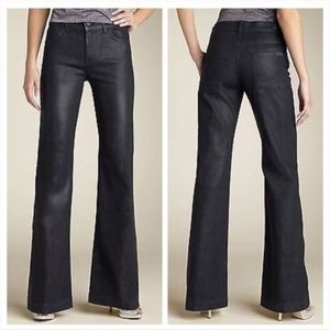 7 for all mankind- Ginger Flare Coated Jeans 24